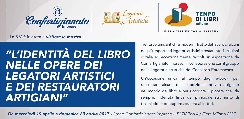 Saremo presenti a Milano Tempo di Libri