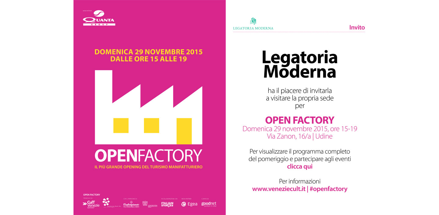 Evento nazionale 2015: Open Factory