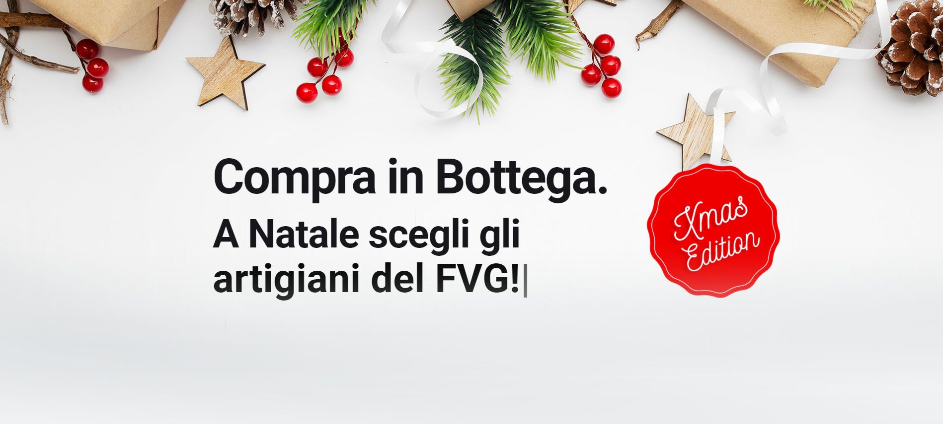 A Natale compra in bottega FVG